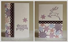 Corine's Art Gallery: Chocolate Baroque Christmas Cards