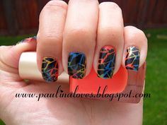 Paulina l♥ves: Colorful Crackle Using the Bundle Monster!