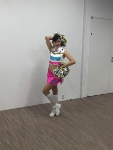 BBMチアリーダーカード2016 撮影中~♪|ファイターズガール オフィシャルブログ Powered by Ameba