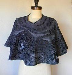 On Sale handmade wearable art milkyway cape by DannyMansmith