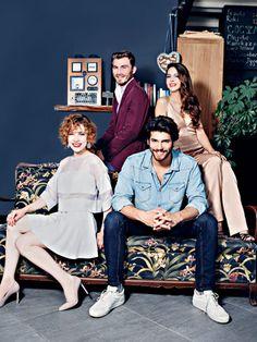 Turkish Men, Turkish Fashion, Turkish Actors, Tv Show Outfits, Man Bun, Feeling Loved, Fnaf, Tv Shows, Handsome