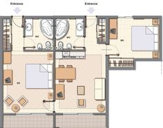 Hiee.......... all .. here sharing few plan layout of hotel rooms. Simple to understand and easy to make. May be they might help you in unde...