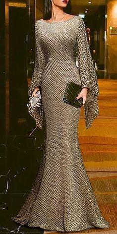 Buy Formal Dresses Elegant Dresses For Women from 1090 at Stylewe. Online Shopping Stylewe Prom Dresses Long Sleeve Formal Dresses Prom Sheath Crew Neck Elegant Shimmer Dresses, The Best Party & Evening Elegant Dresses. Discover unique designers fashion a Hijab Evening Dress, Mermaid Evening Dresses, Evening Dresses With Sleeves, Hijab Dress, Formal Evening Gowns, Long Sleeve Evening Gowns, Long Sleeve Gown, Elegant Maxi Dress, Elegant Formal Dresses