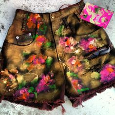 kittens for sale  Onward Kitty spring/summer 2013  hand.funked. hand.painted. tops. shorts. skirts.  by cat stahl