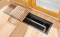 The Radiator Company Trench 300mm Under Floor Convector Radiator