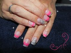 Pink Glow - Nail Art Gallery