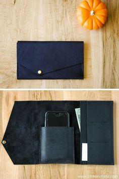 Best Leather Wallets For Women 2019 Best Leather Wallet, Minimalist Leather Wallet, Handmade Leather Wallet, Leather Pouch, Couture Cuir, Diy Leather Projects, Creation Couture, Wallets For Women Leather, Clutch Wallet