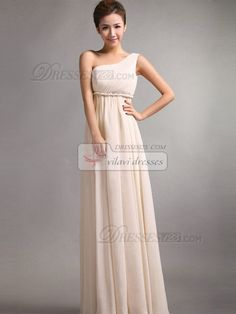 Cool Awesome A-Line One Shoulder Floor Length Draped Prom Dresses Gold 4 USA Seller  2017-2018 Check more at http://24shopping.cf/my-desires/awesome-a-line-one-shoulder-floor-length-draped-prom-dresses-gold-4-usa-seller-2017-2018/