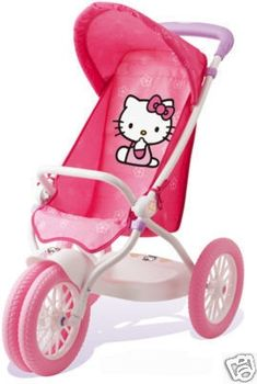 Hello Kitty - if I have a daughter some day, I don't care I am buying this!  Well maybe if it's a son... You think J would let me? ;)