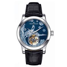 Montre Master Grand Tourbillon Enamel http://www.vogue.fr/joaillerie/shopping/diaporama/montres-animaux-bestiaire-panthere-panda-oiseaux-chanel-cartier-van-cleef-arpels-jaeger-lecoultre/10989/image/653303#montre-master-grand-tourbillon-enamel