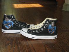 Ravenclaw Shoes 3 by TheRabidWookie.deviantart.com on @DeviantArt