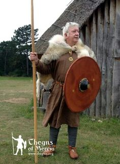 6th-7th century Anglian chieftain. Thegns of Mercia.