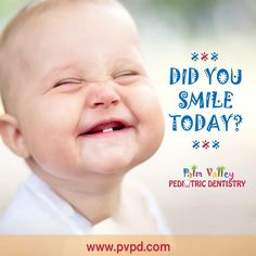 Smile! It makes everyone in the room feel better because they, consciously or unconsciously, are smiling with you.  Palm Valley Pediatric Dentistry - Surprise - tel: 623-535-7873   #pvpd #kid #child #children #love #cute #sweet #pretty #little #fun #family #baby #happy #smile #dentist #pediatricdentist #goodyear #goodyearaz #avondale #avondaleaz #surprise #surpriseaz #phoenix #phoenixaz #litchfieldpark #verrado #dentalcare #oralhealth #kidsdentist #childrendentist