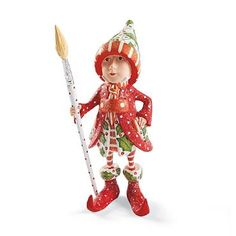 Patience Brewster Vixen's Painter Dash Away Elf Character