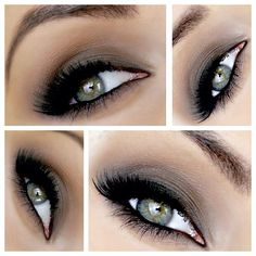 """38.4k Likes, 239 Comments - Naomi Giannopoulos (@vegas_nay) on Instagram: """"Stunning Smokey♨👀 Eyes by ✨@pinupbeautyx93✨ ..using Urban Decay Naked Basics Palette. STEPS⬇⬇⬇ 1⃣…"""""""