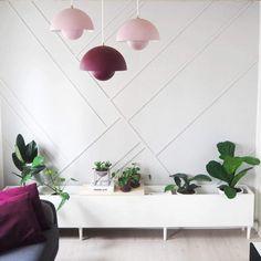 DIY panels / DIY paneler Planter Pots, Photo And Video, Wall, Instagram, Modern, Walls