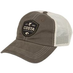 Amazon.com : Costa Del Mar Shield Trucker XL Hat : Baseball Caps : Clothing