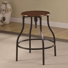 Picture of Adjustable Metal Bar Stool