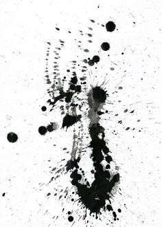 Ink Splatter 02 by *Loadus on deviantART I love a good ink splatter!