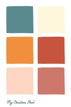 Color inspiration for your next project! Follow @mycreativepool for more color palettes, color schemes and mood boards ❤️ Earth Colour Palette, Coral Colour Palette, Website Color Palette, Website Color Schemes, Vintage Colour Palette, Color Palate, Coral Color Schemes, Popular Color Schemes, Create Color Palette