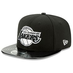 Los Angeles Lakers New Era Solid Shine 9FIFTY Snapback Adjustable Hat -  Black -  27.99 Los 941a829e6c65