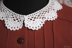 Crochet collar by Nastiin