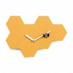 Orologio da parete Time2bee arancio