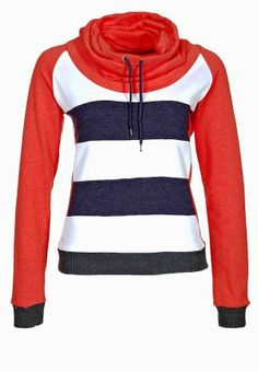 Long Sleeves Stripes Hoodie