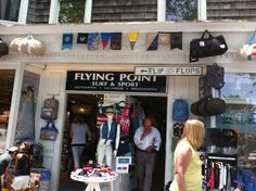 Flying Point Surf & Sport in South Hampton. Find Native Shoes Here!