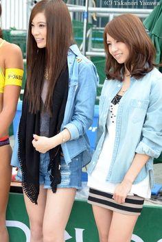 Rina and Haruna