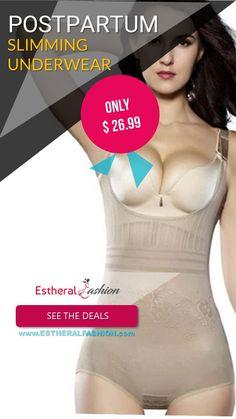 Postpartum Slimming Underwear Trendy Collection, Just Go, Underwear, Collections, How To Wear, Fashion, Moda, Fashion Styles, Fashion Illustrations