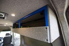 Exo Skeleton Cabinets - Outside Van Benz Sprinter, Mercedes Sprinter, Mercedes Benz, Vw T5, Off Road Trailer, Van Car, Van Design, Camper Van Conversion Diy, Van Interior