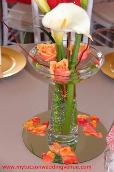 Calalillie table center piece