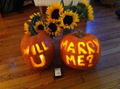 October Halloween marriage proposal. Oh. My. Gosh. This would be perfect for me!!