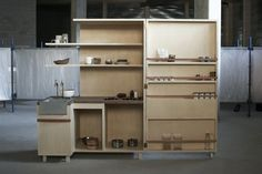 Keukenkabinet Compact Kitchen by Johanneke Procee