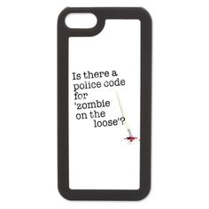 zombie on the loose iPhone 5 Switch Case Castle TV show  $24.50
