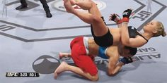 EA UFC - Game Glitches Can Be Hilarious