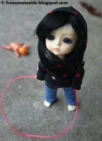 Emo Wallpapers: EMO Doll beautifull pic