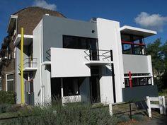 Rietveld Schroder House by Gerrit Rietveld