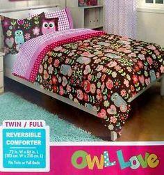 Pink And Brown Owl Bedroom Sets Owl Teen Girls