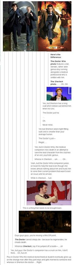 Sherlock vs. Doctor Who
