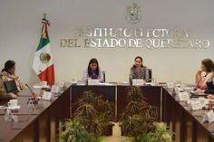 En sesión de las comisiones unidas de Organización Electoral y Educación Cívica del Instituto Electoral del Estado de Querétaro (IEEQ),...