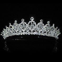 Gorgeous Alloy Bridal Tiara/ Headpiece – USD $ 59.99
