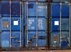 #Container_Door - The quality you get with #storage_containers is second-to-none. The doors are highly secured, so no one will be breaking in any time soon.