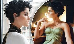 Jaimie Alexander shows off her edgy sartorial style for photo shoot