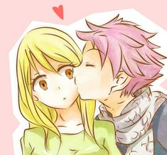 Nastu and Lucy Fairy Tail Lucy, Fairy Tail Gruvia, Fairy Tail Ships, Jerza, Fairytail, Anime Fanfiction, Fairy Tail Couples, Love Fairy, Anime Fairy