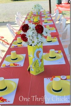 Curious George Party Ideas | My, oh, my! You all have been busy beavers this last week! The links ...