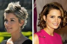 Jennifer Grey Short Hair Style for 2014 - Curly Hairstyle for Thick Hair - Pretty Designs