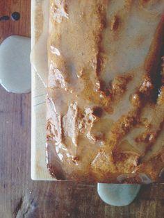 spiced apple walnut cake / vegan, gluten free