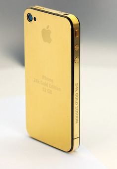 iPhone 24k GOLD EDITION